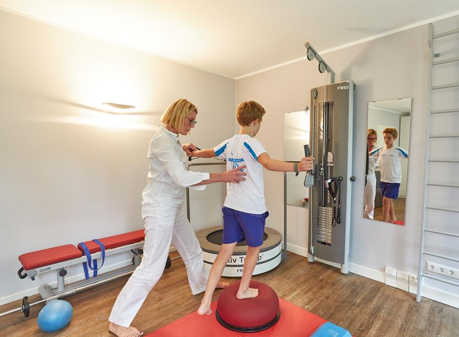 Therapieformen Physiotherapie - Nienstedten physio.aktiv